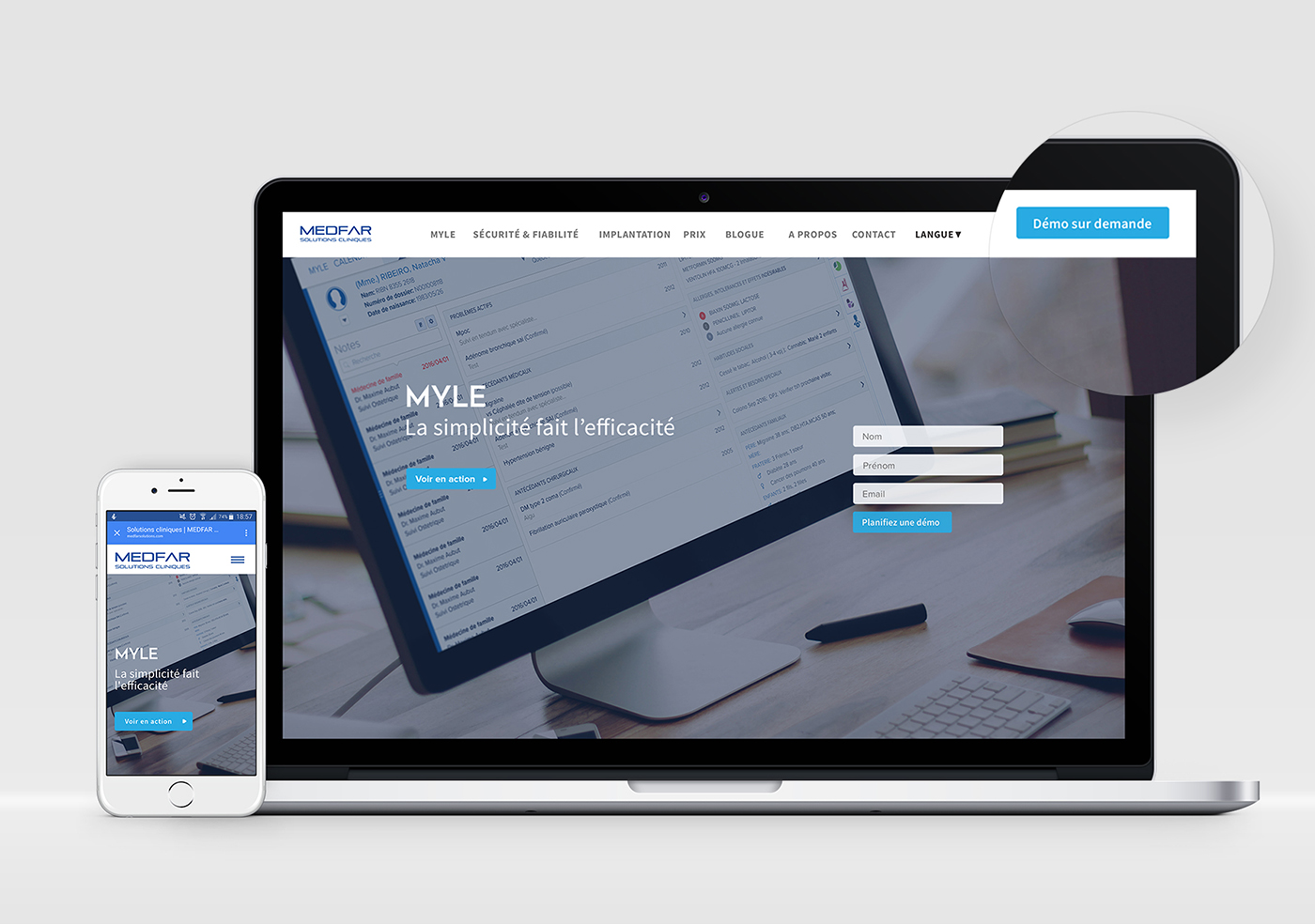 MEDFAR corporate website